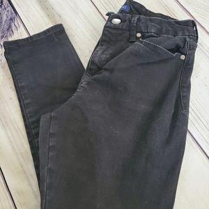 Bandolino Smooth Operator Black Size 6 Jeans/308